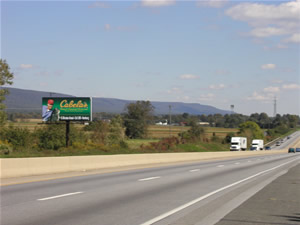 Between Allentown and Harrisburg Pa
