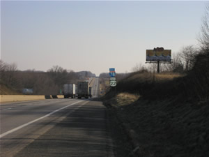 I-78 eastbound Billboards Between Allentown and Harrisburg Pa 12' x 25' w/lights, between Exit 19 and Exit 23