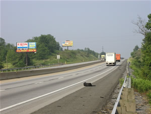 I-78 westbound Billboards Between Allentown and Harrisburg Pa 12' x 25' w/lights, between Exit 23 and Exit 19