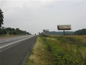 "I-78 westbound Billboards Between Allentown and Harrisburg Pa 10'6"" x 36' bulletin w/lights just west of Exit 29, next to Cabela's"