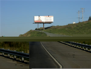 "I-78 eastbound Billboards Between Allentown and Harrisburg Pa 10'6"" x 36' bulletin w/lights, between Exit 30 and Exit 35 near Cabela's"